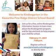 Kindergarten Information Session